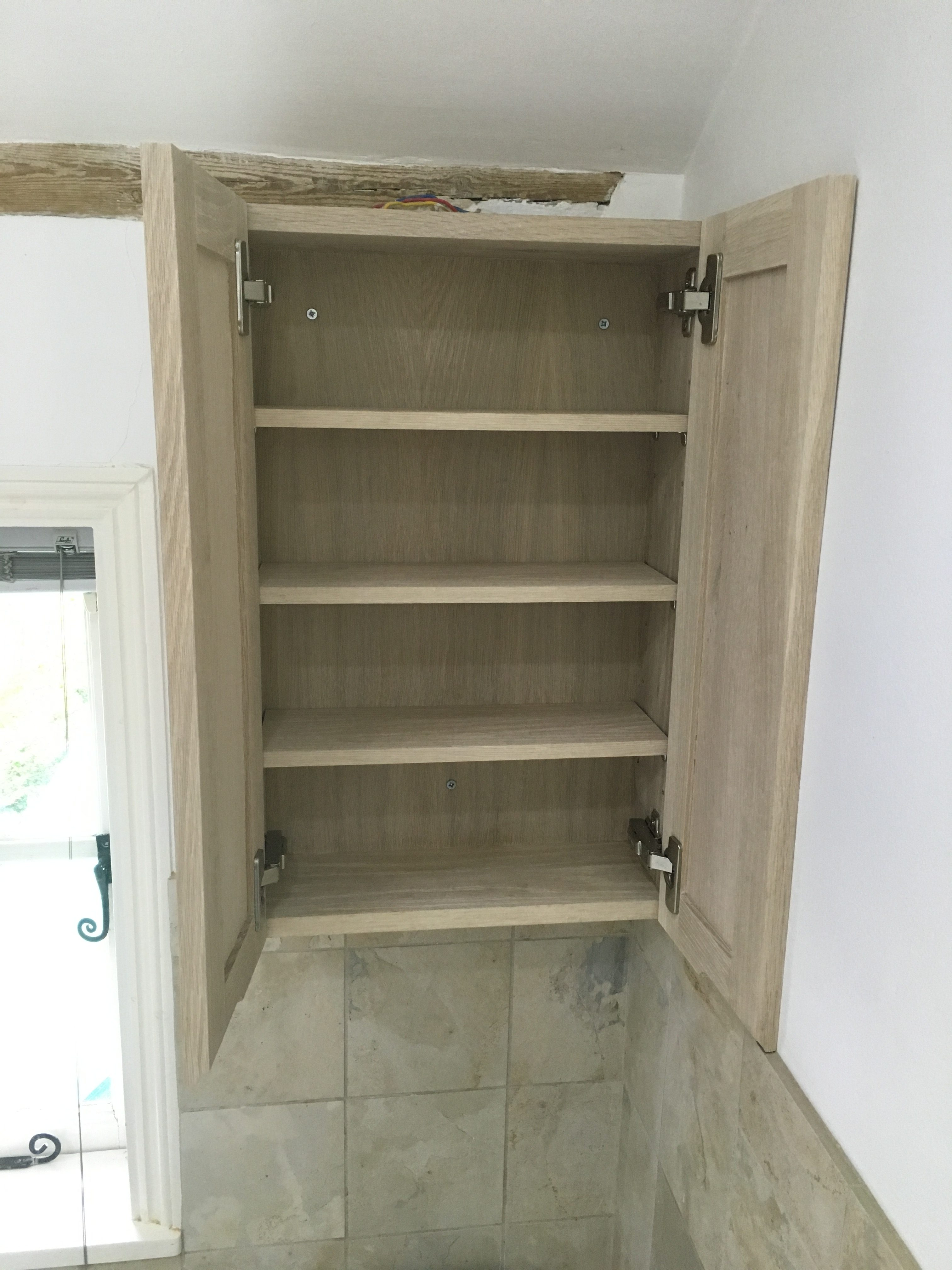 Limed Oak Bathroom Cabinet Reed And Sons